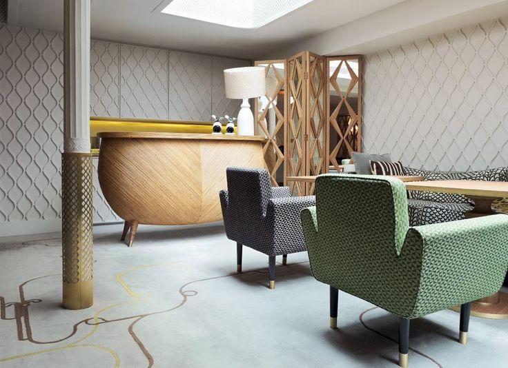 L'Hôtel Thoumieux by India Mahdavi, Paris.