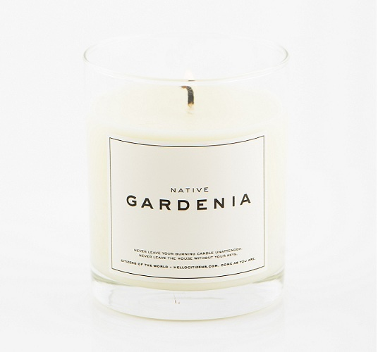 The Native Gardenia plant, also known as the Yellow Mangosteen, is usually found in the rainforests of Tropical North Queensland and is one of the few Gardenias indigenous to Australia.     Our NATIVE GARDENIA celebrates the depth of its strong, sweet scent by adding notes of Jasmine and Ylang Ylang essential oil.