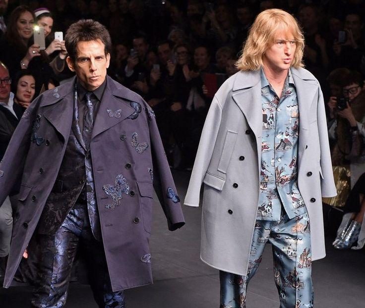 Ben Stiller i Owen Wilson na wybiegu w Paryżu. Zabawna rzecz!