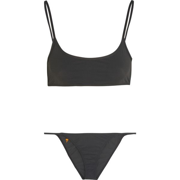 Tomas Maier Embroidered bikini ($115) ❤ liked on Polyvore featuring swimwear, bikinis, bikini, underwear, swimsuits, padded swimsuit, bikini swimwear, bikini bathing suits, underwire bathing suits and swimsuit swimwear