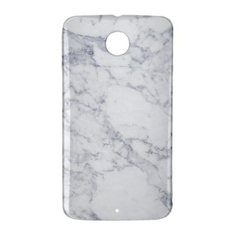 Grey Marble Google Nexus 6 Case Cover Wrap Around