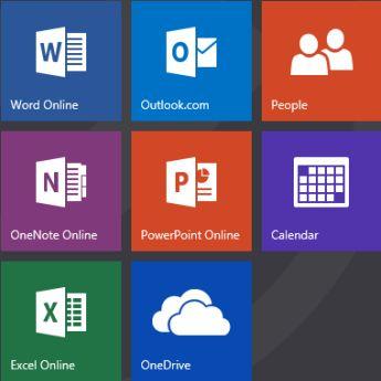 Office.com start screen