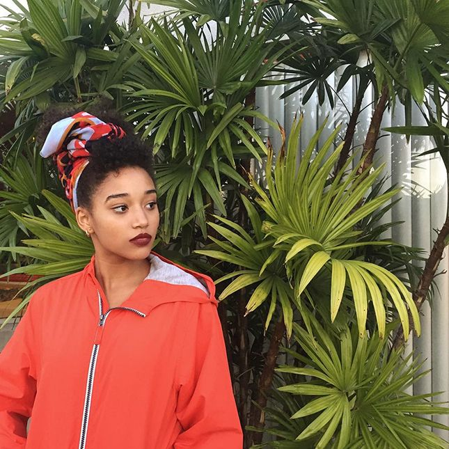 Follow the talented Amandla Stenberg on Instagram ASAP.