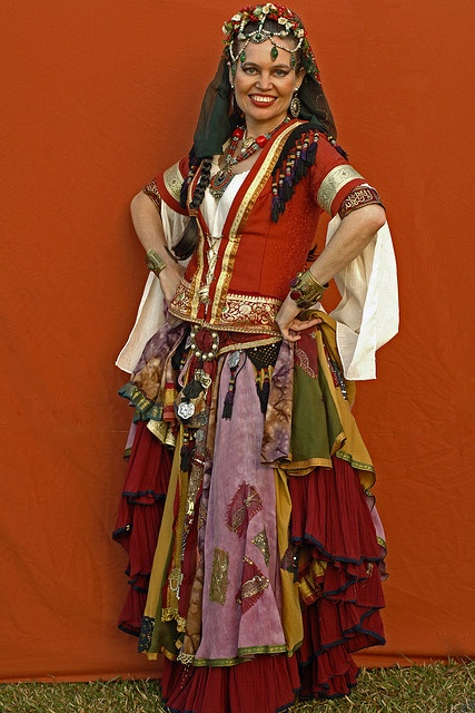 20090711_Abbey Medieval Festival_ Romany Gypsies - 1867 by Peter J Howes - Photographer, via Flickr