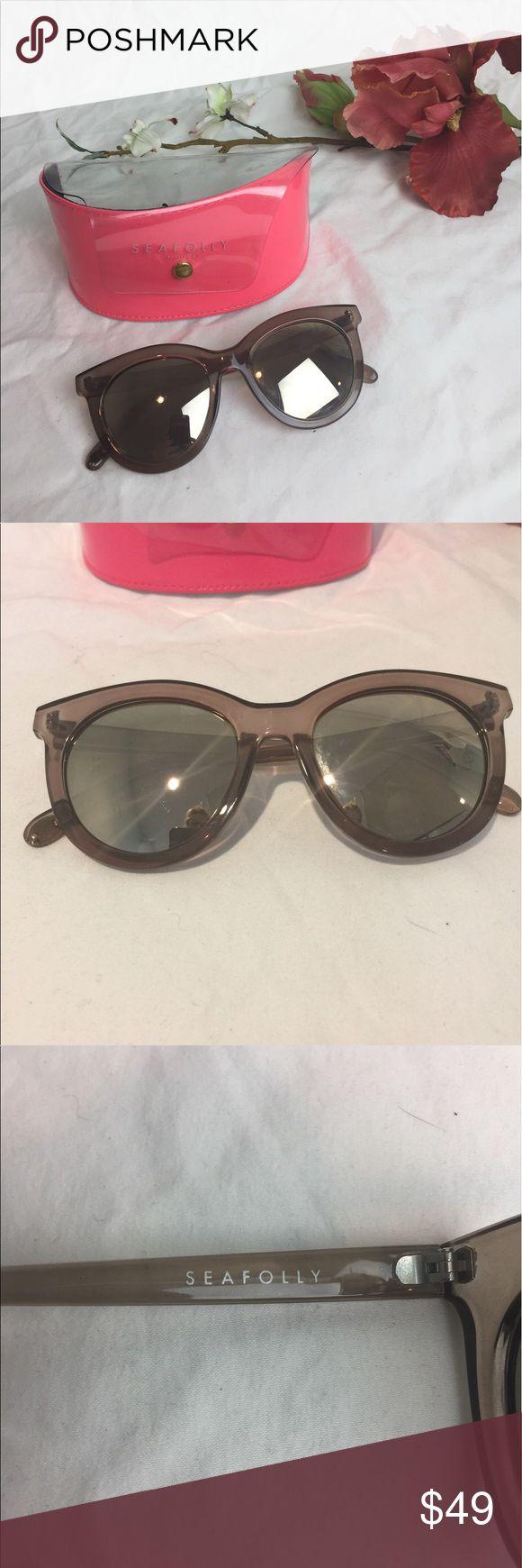 Seafolly Australian Iconic Sunglasses 😎 Iconic  Australian mirror sunglasses, no scratches, case included, rare style Seafolly Accessories Sunglasses