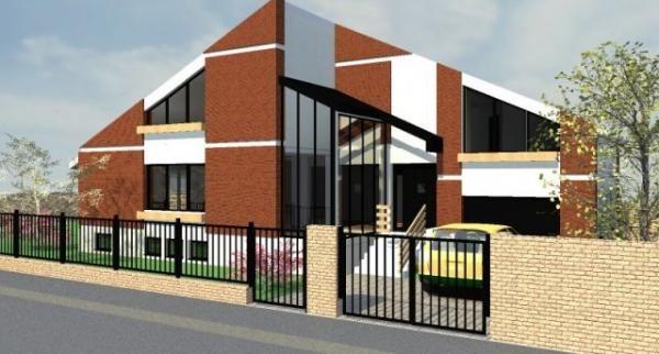proiect casa parter mansarda garaj mare