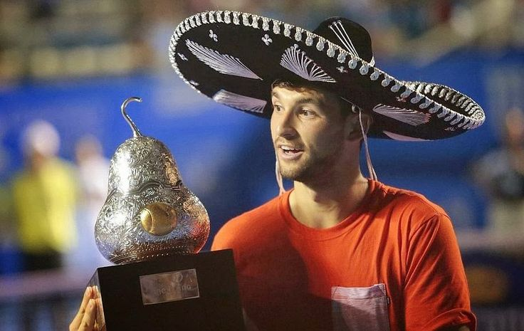 Tennis Moods: Dimitrov's Amor a la Mexicana  Bulgarian sensation, Grigor Dimitrov, withstood a stiff challenge from South African Kevin Anderson to win the Acapulco final 7-6,3-6,7-6. He claimed his second ATP title.
