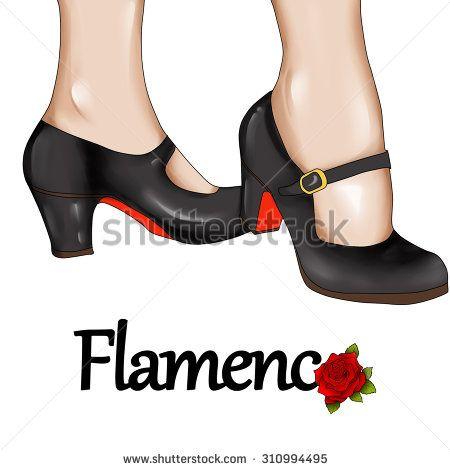Flamenco Baile Ilustraciones en stock y Dibujos | Shutterstock