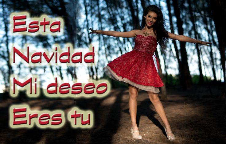 "Giselle - ""Esta Navidad mi deseo eres tu"" - ""All I want for Christmas is..."
