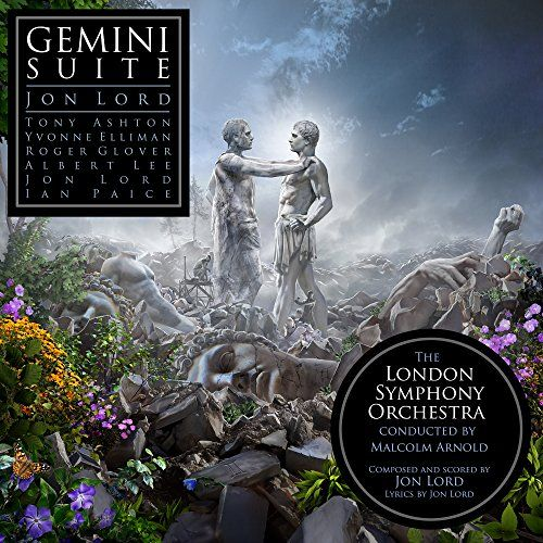 Gemini Suite:   (File: DEEP PURPLE) 1971 classic newly remastered from original stereo tapes at Abbey Road with new liner notes by Roger Glover. London Symphony Orchestra conducted by Malcolm Arnold with Albert Lee, Ian Paice, Tony Ashton, Yvonne Elliman & Roger Glover.