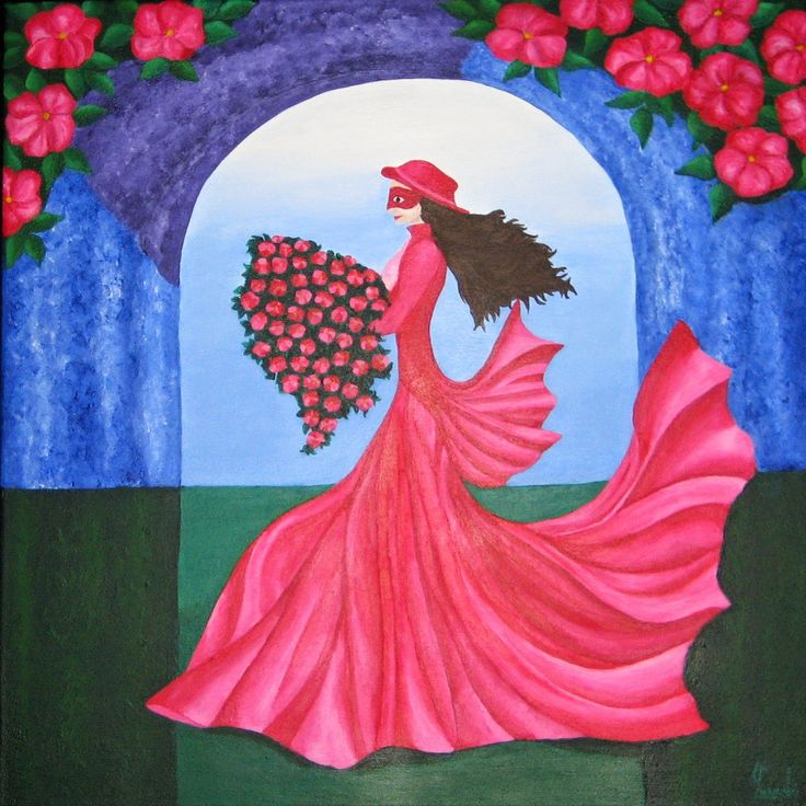 Hana Szarowski: New Painting: The Dance of the Rose