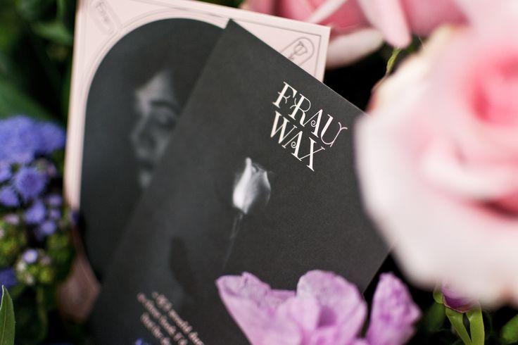 FRAU WAX / Erscheinungsbild für eine Band / #music #album #songstosaywhat / by Zeichen & Wunder, München