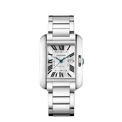 Cartier Tank Anglaise watch, medium model