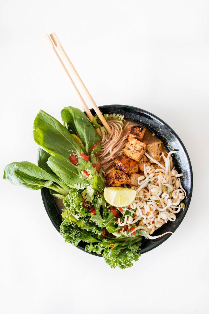 Easy Vegan Noodle Soup / Feel Good Kitchen