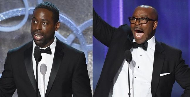 Courtney B.  Vance and Sterling K. Brown both winning an Emmy for 2016
