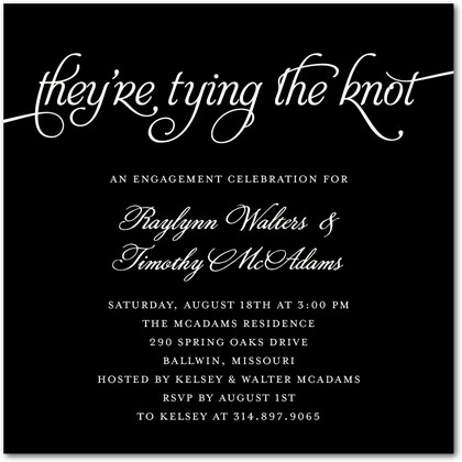 68 best Wedding Invitations images on Pinterest Bridal invitations - invitation wording ideas for dinner party