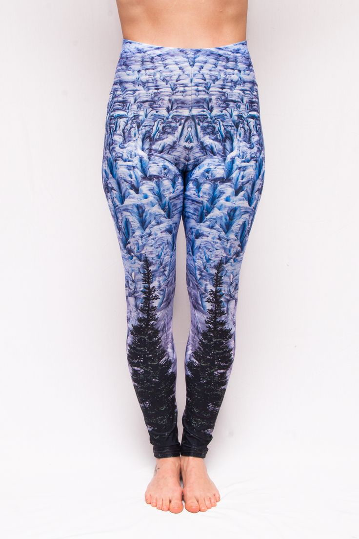 """""""Crev-Asses"""" Glacier Leggings - 70$ Free Shipping to Canada & USA Ethically Made in Canada."""