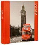 Iconic Cities London Slip In Photo Album, 40 Cream Leaves, 400 6x4 Photos