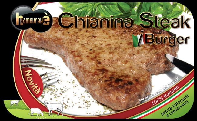 Packaging Chianina Steak iBurger