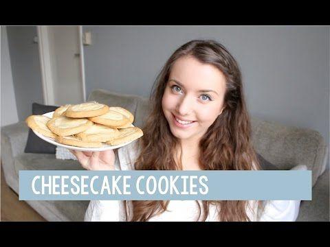 Cheesecake cookies - Foodgloss - YouTube
