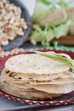 Homemade corn tortillasThe best Maseca recipe ever!