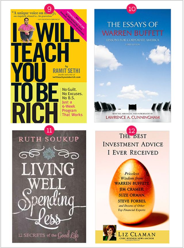 12 Actually-Useful Finance Books Every 20-Something Should Read