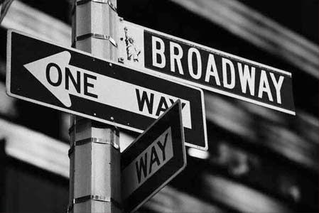 Be in a Broadway show.