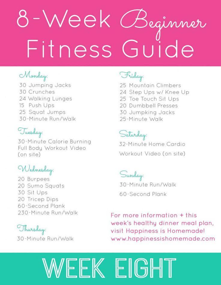 Beginner Fitness Jumpstart: Week 8