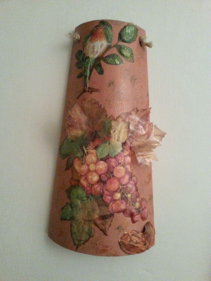 tegola 3d con uva