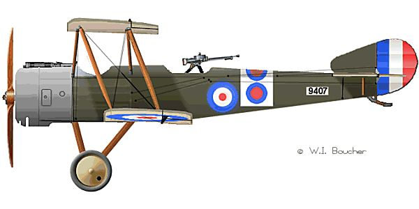 Sopwith one and a Half Strutter - 1916