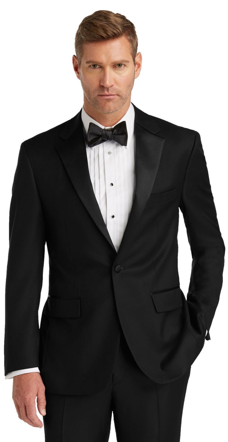 1905 Collection Tailored Fit Tuxedo Jacket - Big & Tall