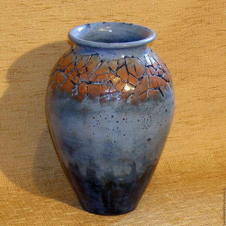 """Купить ваза """"фиеста"""" - комбинированный, цветы, ваза для цветов, ваза, подарок, Праздник, интерьер"""
