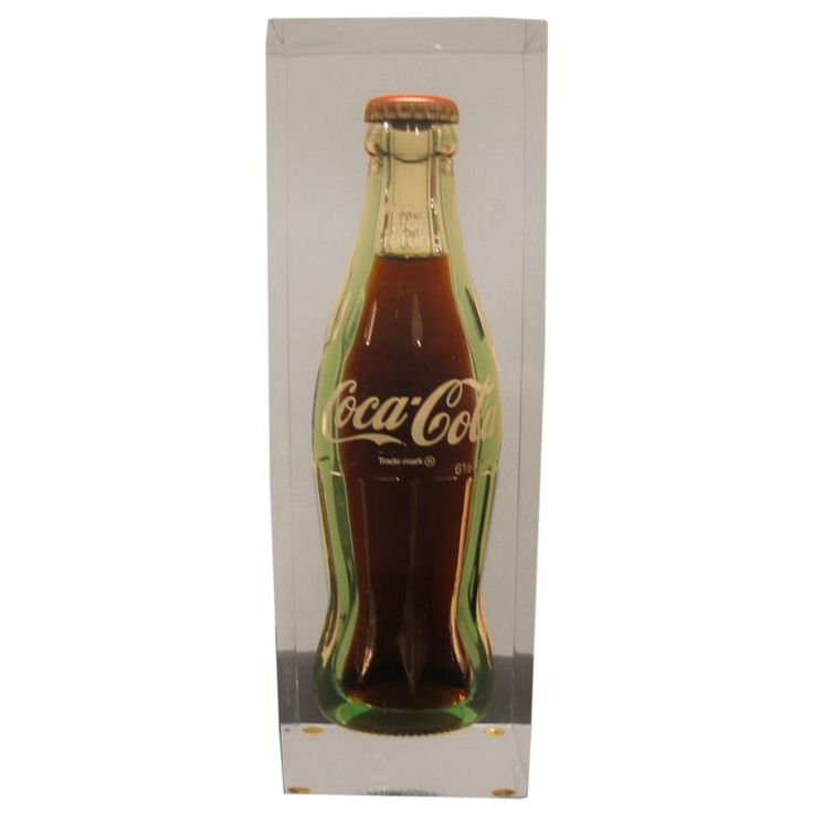 NIGHT AND DAY...COCA COLA ...ALWAYS IN FLIGHT...MY VERY FIRST ADVERTISEMENT I SENT TO THE COCA COLA PLANT HERE IN ALBANY, GEORGIA U.S.A. JULY 1994... coca cola bottles art | This American Pop Art Coca Cola Bottle in Lucite Cube is no longer ...