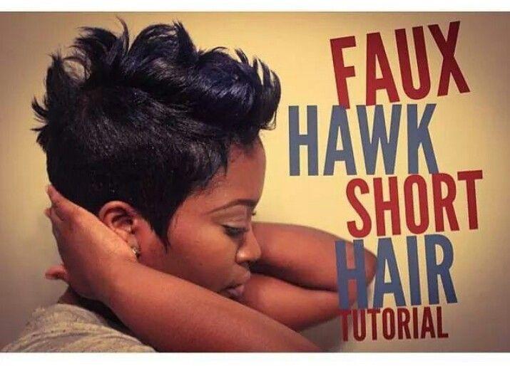 Funky Faux Hawk!