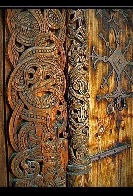 Medieval Viking Church in Oslo, Norway.
