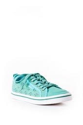 Slope Lace Up Sneaker in Mint