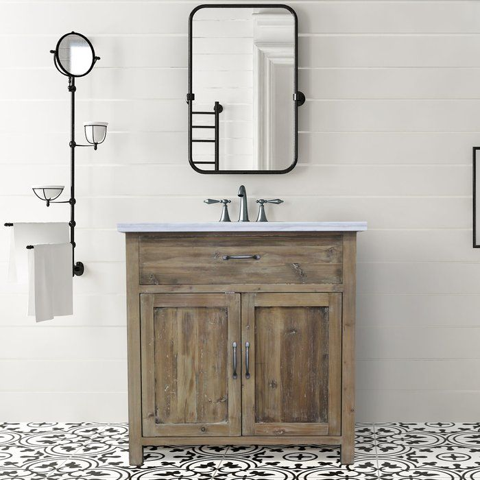 Kwon 36 Single Bathroom Vanity Antique Bathroom Vanity