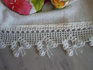 crochet flutterby edging