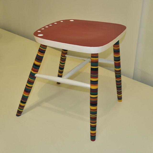 Abused furniture - made of old chair