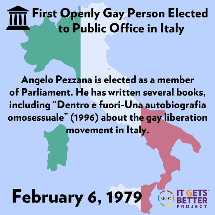 Angelo Pezzana Becomes First Gay Person Elected to Italy's Public Office