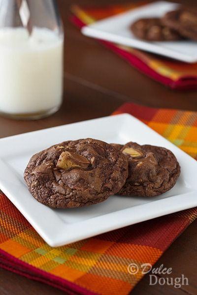 Reese's Peanut Butter Cup Brownie Cookies