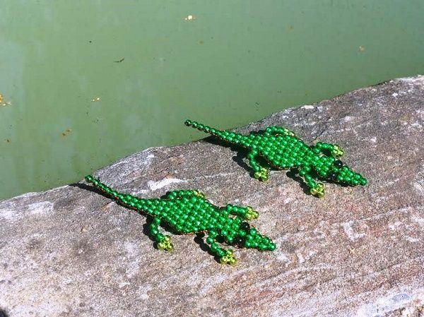 Láttam néhány krokodilt a homokban - Mesés gyöngyök