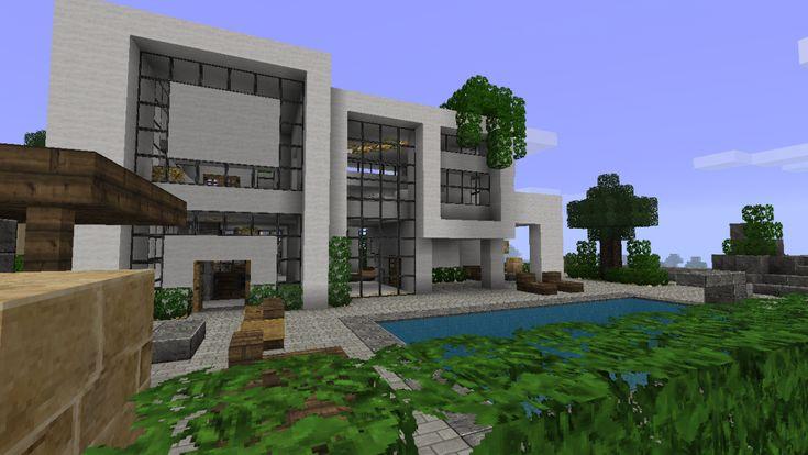 minecraft   Maison d'Architecte Minecraft