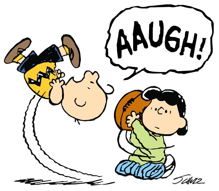 Image detail for -Charlie Brown Lucy Moves the Football Again