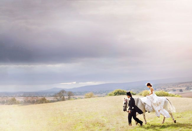 This blog has so many beautifully styled photographs I must pin more than one!  Fairytale!