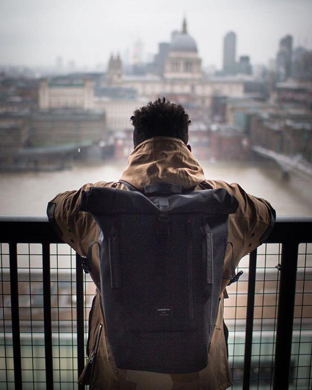 Water resistant backpack William via @streetclobber on Instagram.