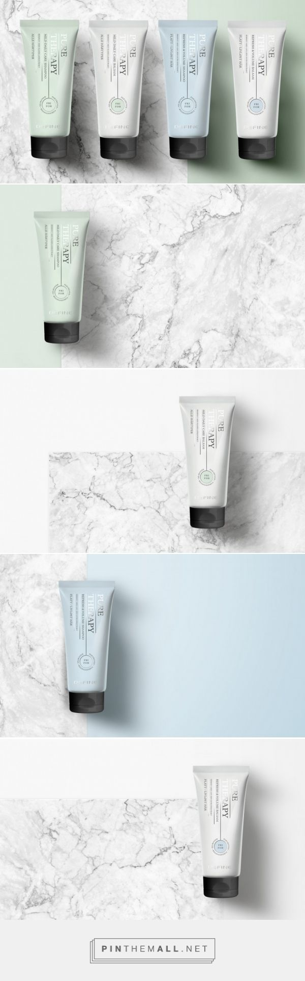 Pure Therapy Hair Care Packaging by Anti   Fivestar Branding Agency – Design and Branding Agency & Curated Inspiration Gallery