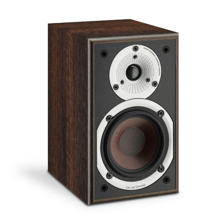 DALI SPEKTOR 1 in Walnut finish. Affordable and compact hi-fi!