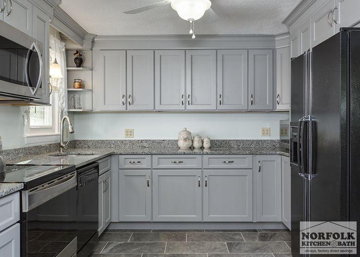 Transitional Gray Kitchen In Hudson, NH   Norfolk Kitchen U0026 Bath