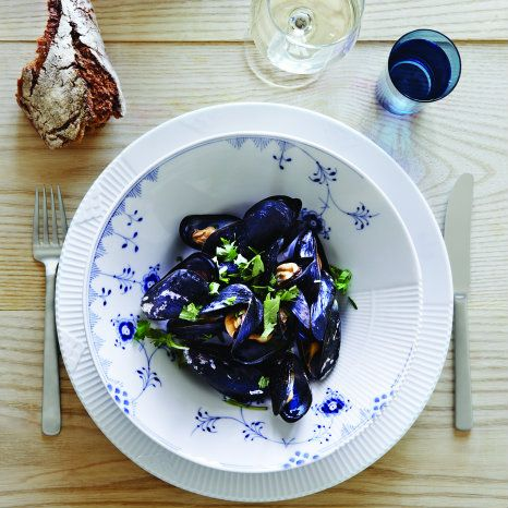 Mussels - Blue Elements & White Elements
